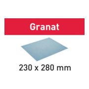 Festool Schleifpapier 230x280 P320 GR/50 Granat