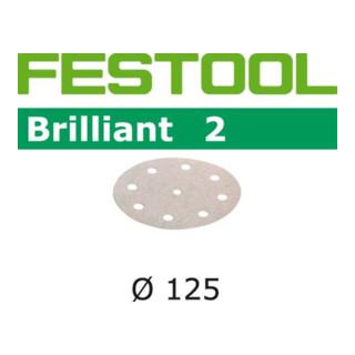 Festool Schleifscheiben STF D125/8 P180 BR2/10 Rubin 2