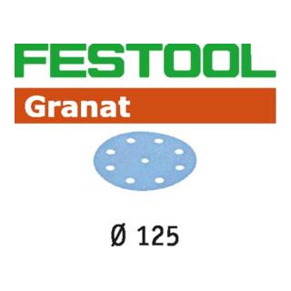 Festool Schleifscheiben STF D125/8 P40 GR/50 Granat - broschei
