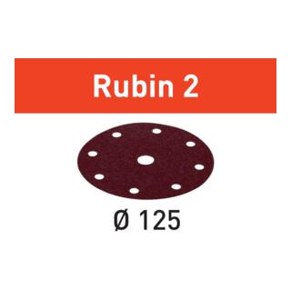 Festool Schleifscheiben STF D125/8 P40 RU2/10 Rubin 2