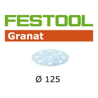 Festool Schleifscheiben STF D125/8 P800 GR/50 Granat - broschei