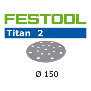 Festool Schleifscheiben STF D150/16 P40 TI2/50 Titan 2