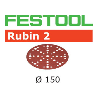 Festool Schleifscheiben STF D150/48 P100 RU2/50