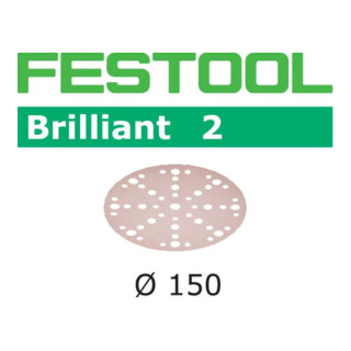 Festool Schleifscheiben STF D150/48 P180 BR2/10