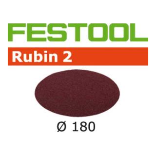 Festool Schleifscheiben STF D180/0 P40 RU2/50 Rubin 2