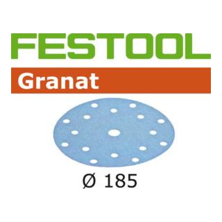 Festool Schleifscheiben STF D185/16 P240 GR/100 Granat - broschei