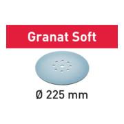 Festool Schleifscheiben STF D225 GR S/25 Granat Soft