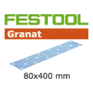 Festool Schleifstreifen STF 80x400 P80 GR/50 Granat - broschei