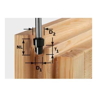 Festool Stufenfräser HW Schaft 12 mm HW D20,3/12,3/6 S12