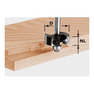 Festool Wendeplatten-Falzfräser HW Schaft 8 mm HW S8 D38/12
