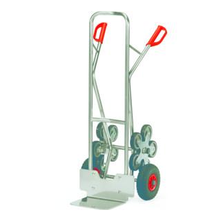 Fetra Alu-Treppenkarre mit fünfarmigem Rad-Stern