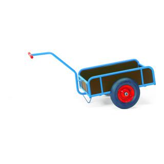 Fetra Handwagen mit Kasten 4109 - Tragkraft 400kg Luft-Bereifung
