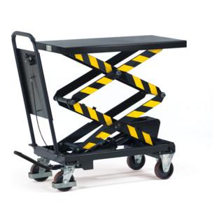 fetra Hubtischwagen Doppelschere für besonders großen Hubbereich