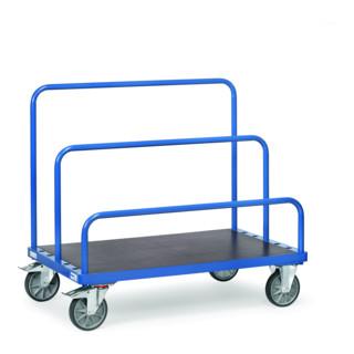 fetra Plattenwagen mit Einsteckbügel