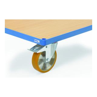 Fetra Räder mit Polyurethan-Bereifung 200 mm
