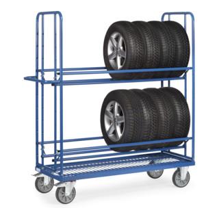 fetra Reifenwagen 4596 - Tragkraft 400kg TPE-Reifen