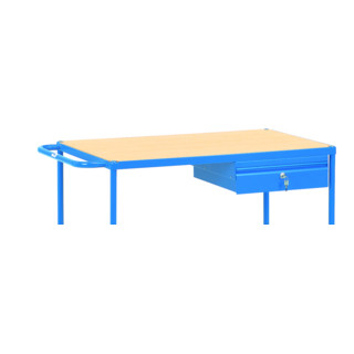 Fetra Stahlblechschublade (Zubehör für Tischwagen) 500 und 1000kg