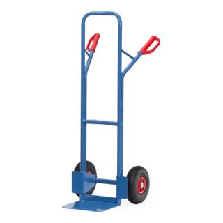 fetra Stahlrohr-Sackkarre ohne Gleitkufen bis 300 kg