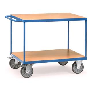 fetra Tischwagen 24+ mit TPE-Reifen