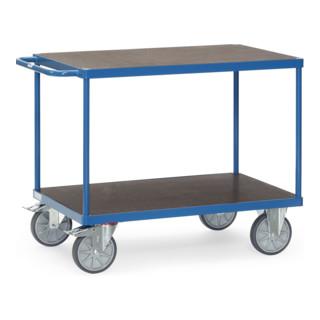 Fetra Tischwagen 2402 mit wasserfesten Plattformen
