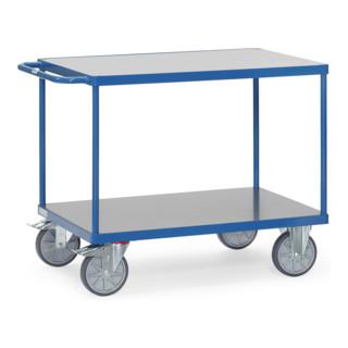 Fetra Tischwagen 2403 mit Hart-PVC-Plattformen