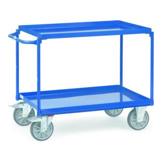 Fetra Tischwagen mit Blechwanne