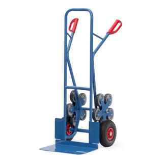 fetra Treppenkarre TK 1328 - Tragkraft 200kg Schaufel 30x48cm