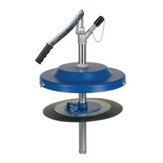 Fettfüllgerät f.ca.50kg Eimer D.335-385mm Pumpen-D.700mm PRESSOL