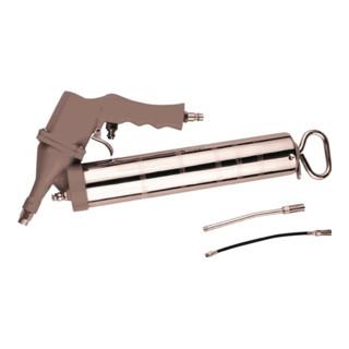 Fettpresse Druckluft ST 450ml/2-6,3bar/m.Flexschlauch+starrem Rohr