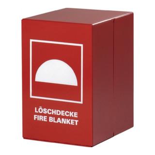 Feuerlöschdeckenbehälter 200x300x240mm a.Stahl rot Jutec