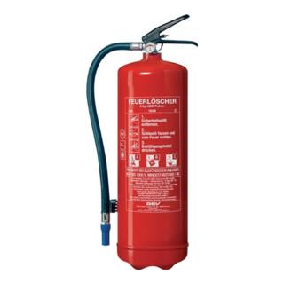 Feuerlöscher FLP 3750/EN 3/6kg 34A 183B C rot GEV