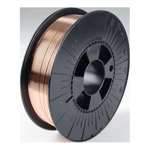 Fil de soudage G3Si1 (SG 2) D. 1 mm bobine D-200 enroulé en couches WDI