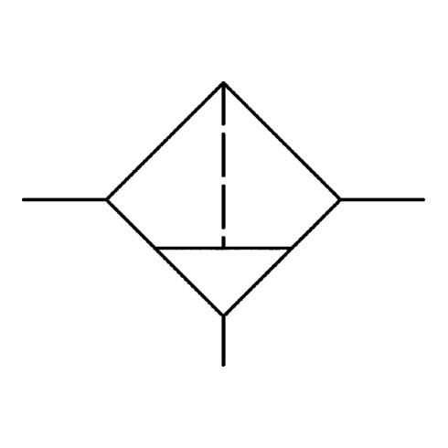 Filter Standard G 2mit Polycarbonatbehälter