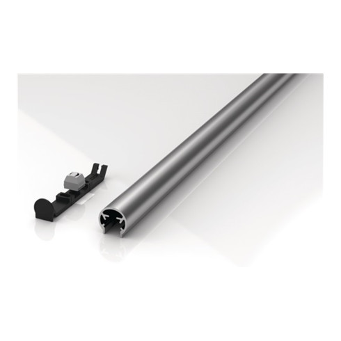 Fingerschutzprofil BU-20K+ L.1000mm Bands.silberf.ATHMER