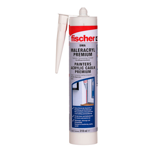 fischer Maleracryl Premium DMA 310ml weiß