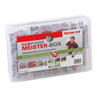 Fischer Meister-Box DUOPOWER Dübel (132)