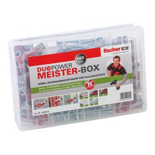 Fischer Meister-Box DUOPOWER + Schrauben (160)