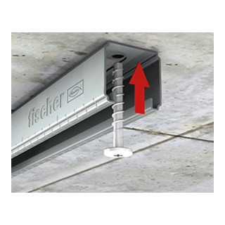 fischer Montageschiene FLS 37/1.2 - 3m