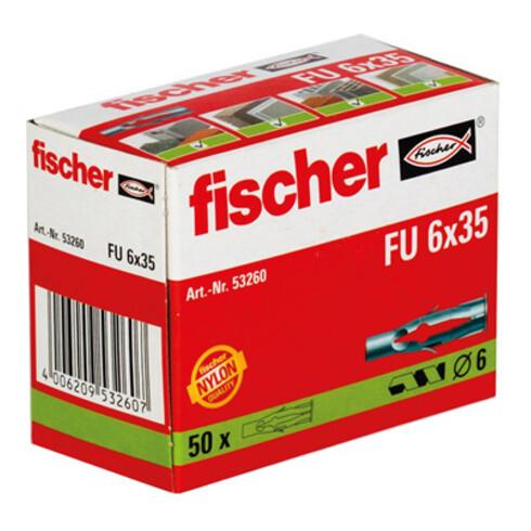 fischer Universaldübel FU 6x35