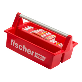 Fischer Werkzeugkasten mit 550 SX-Dübeln Ø 5 - 10 mm