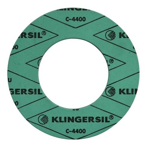 Flachdichtring KLINGERsil® C-4400 DIN2690 Abm.127x77x2 ND PN 10-40