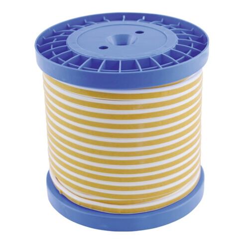 Flachdichtungsband 4360 L25 mxB3mm 1,5mm PTFE Spule
