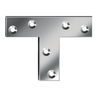 Flachwinkel Schenkellänge 70mm Breite16 mm Stärke 2mm T-Form
