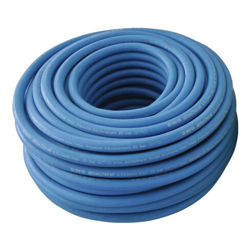 Flexible d'air comprimé flextrem BluBird ID 9,5mm AD 15,5mm L.50m bleu EWO