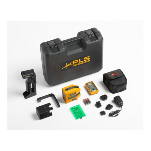 Fluke Kreuzlinien-/Punkt-Lasernivelliergerät, Kit, grün