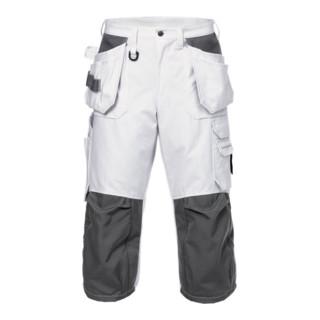 Fristads 3/4 Handwerker Baumwoll-Hose 245 BM Weiß (Herren)