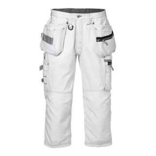 Fristads 3/4 Handwerkerhose 2124 CYD Weiß (Herren)