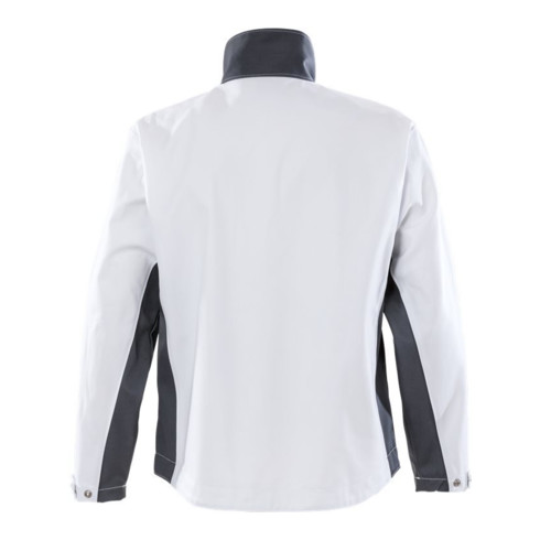 Fristads Baumwoll-Jacke 458 BM Weiß (Herren)