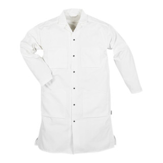 Fristads Baumwoll-Mantel 103 P92 Weiß (Herren)