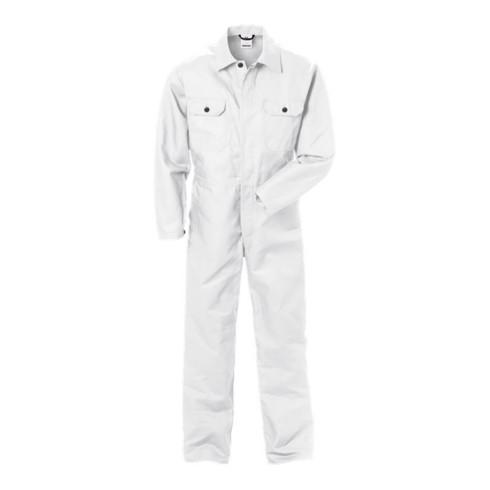 Fristads Baumwoll-Overall 875 NAS Weiß (Herren) Weiß (zum Einfärben)